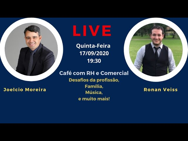 Café com RH - Entrevista com Ronan Weiss