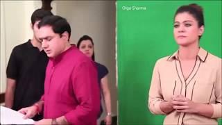 Шахрукх Кхан и Каджол -на съёмках промо к DILWALE