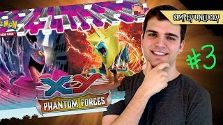 Best Pokemon Phantom Forces Booster Box Opening! Part 3 ..Static Shock!.. OH BABY!!