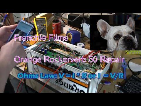 Orange Rockerverb 50 - Amp Fix