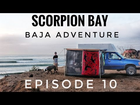 Overlanding Mexico and Central America: Scorpion Bay, Baja Adventure (Travel Vlog) Ep. 10