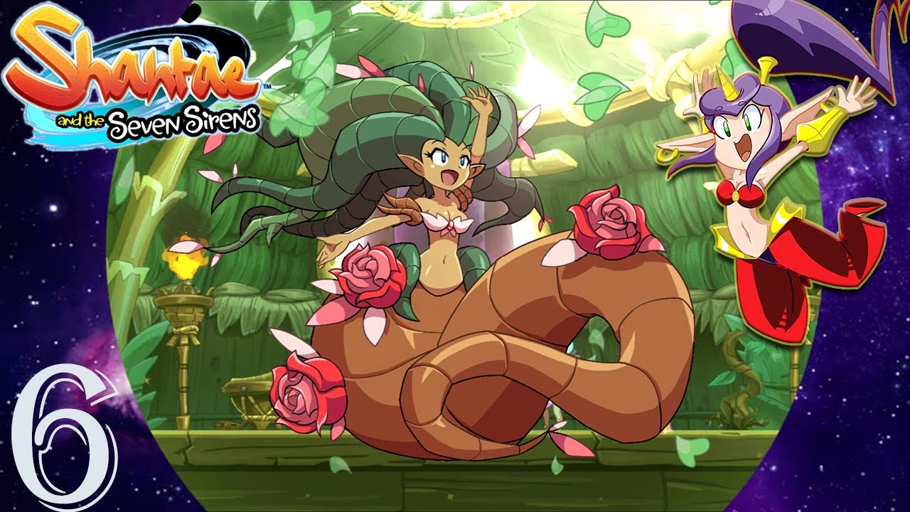 Plant Genie! Shantae And The Seven Sirens Part 6