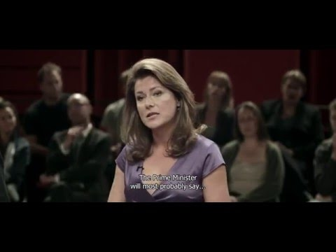 Borgen S01E01 Birgitte Nyborg speech HD