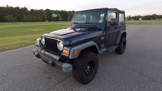Davis AutoSports 2004 Jeep Wrangler For Sale / 43k Miles / PreListing