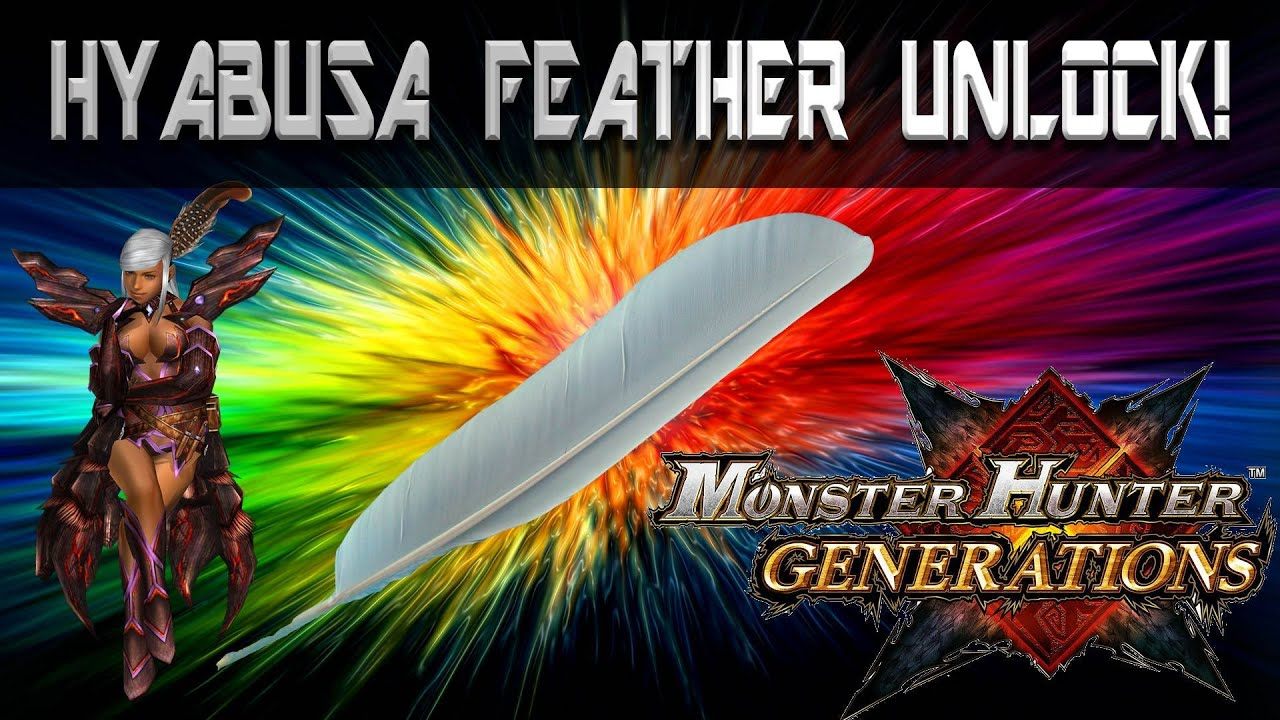 Hyabusa Feather Unlock! Out of the Fry Pan