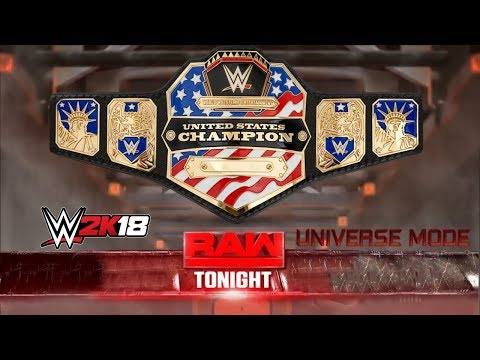 WWE 2K18 Universe Mode: RAW | NIGHT OF OPEN CHALLENGES [Detroit, MI]