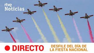 #DIRECTO 🔴 Desfile militar del DÍA DE LA FIESTA NACIONAL #12Octubre | RTVE