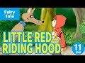 LITTLE RED RIDING HOOD (ENGLISH) Animation of World's Fairytale/Folktales for Kids