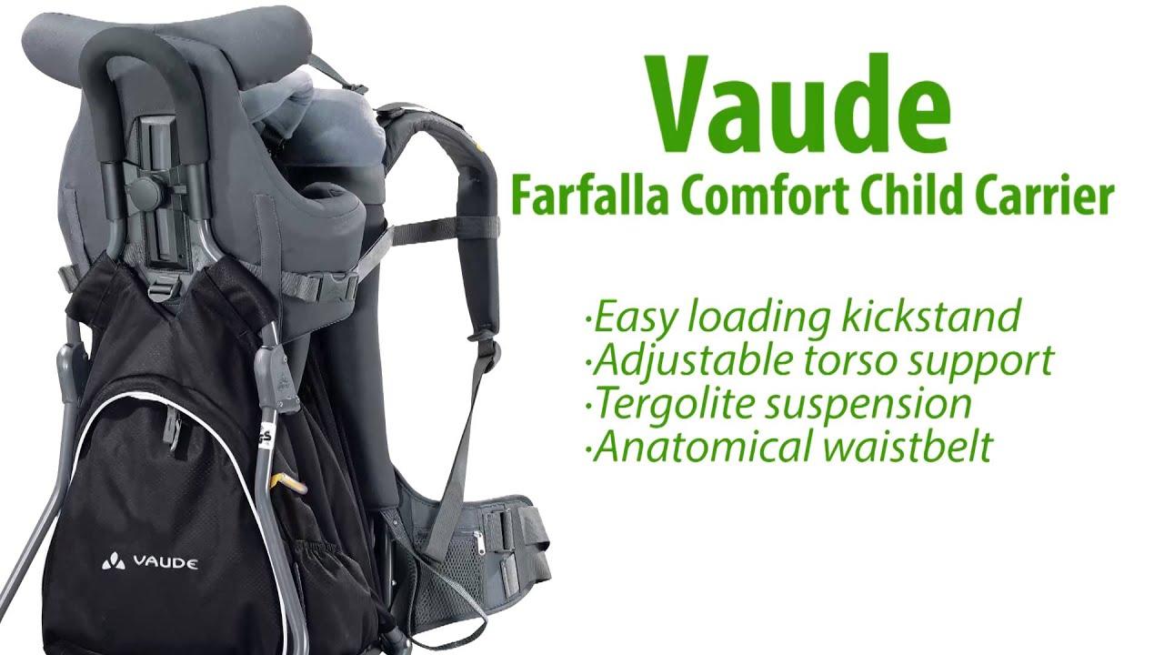 80f51be4da Vaude Farfalla Comfort Child Carrier - YouTube