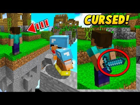 I Made A CURSED Minecraft Skin To Confuse Players.. (Minecraft)