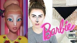 I Tried Following A Barbie Vlogs Makeup Tutorial