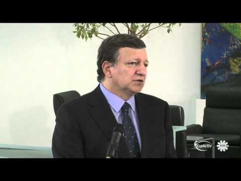 Merkel, Barroso discuss banking union