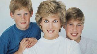 Princess Diana, Prince William & Prince Harry ~ Rewind