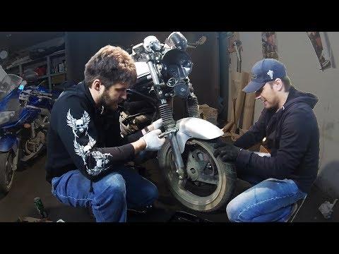 Диверсия #1: Воскрешаем мотоцикл после ДТП