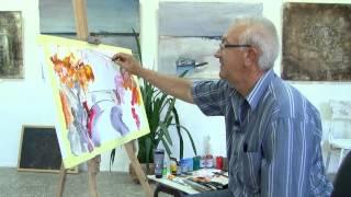 Мастер класс Олег Недошитко - Акриловая живопись