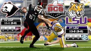 The BCS National Championship (v2)   NCAA 14 Team Builder Dynasty Ep. 73 (S6)
