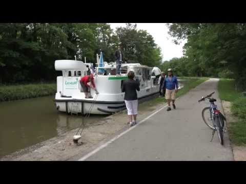 Der Weg ist unser Ziel (Mit dem Hausboot auf dem Canal du Centre)
