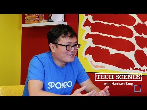 Tech Scenes Harrison Tang of Spokeo - The Great Opportunity in Pasadena