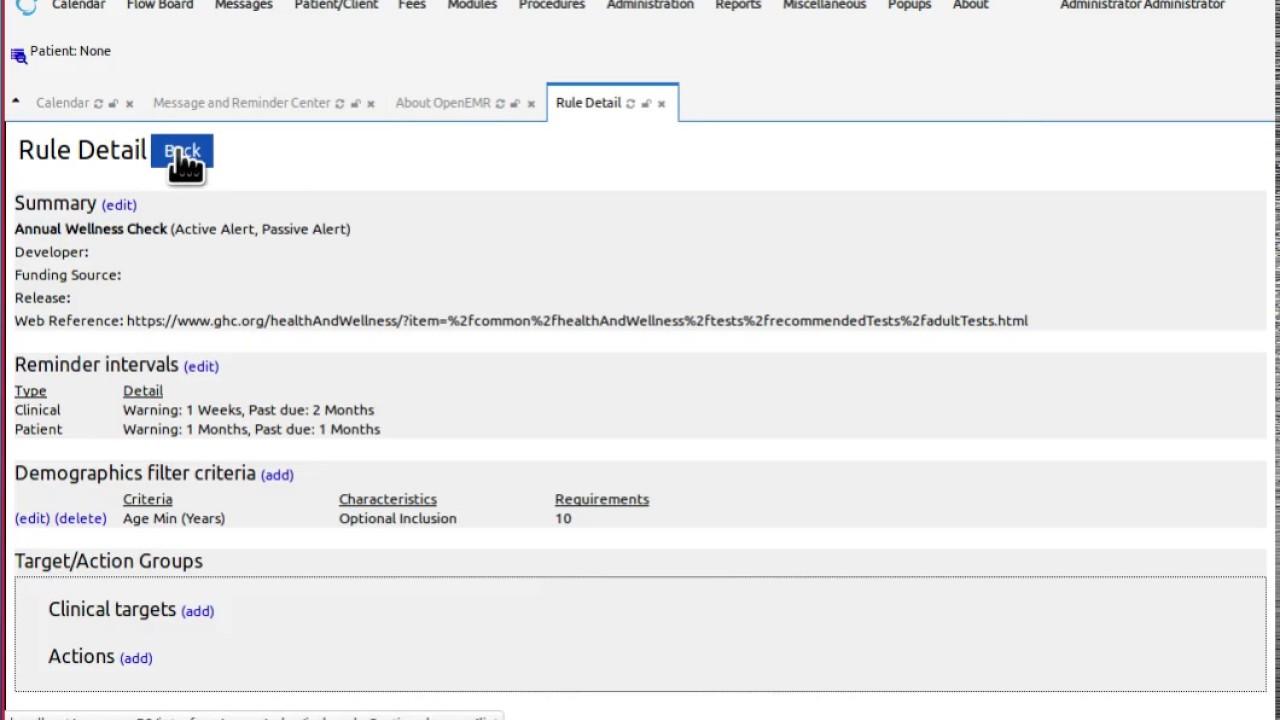 OpenEMR 5 0 1 Users Guide - OpenEMR Project Wiki