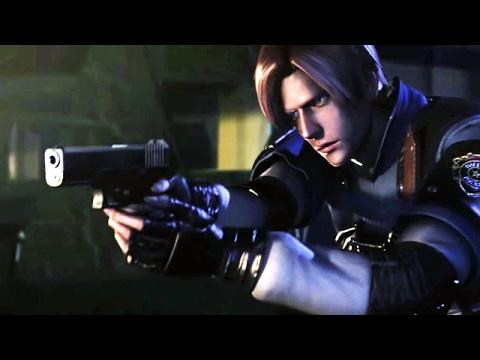 Resident Evil 2 - Сюжет Леона - Прохождение Часть 1