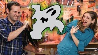O espelho criador de fantasmas (experiência de Óptica) thumbnail