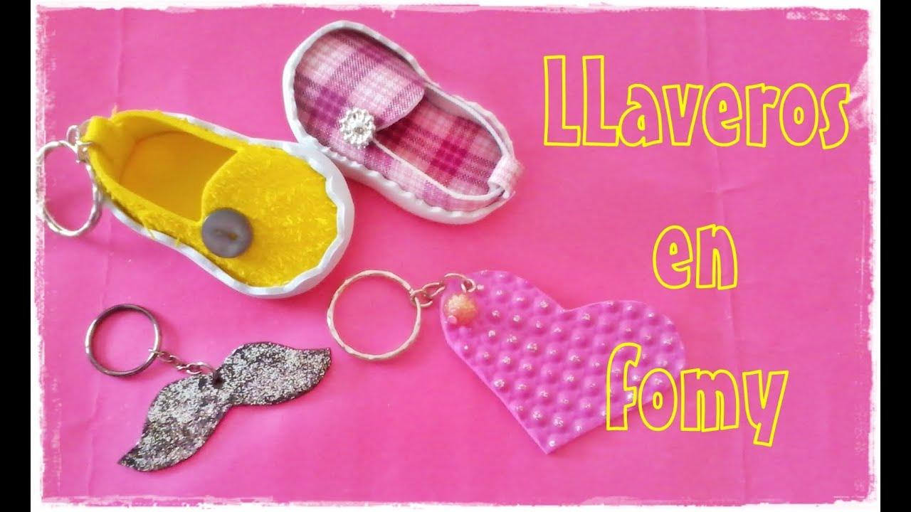 dd643ee2114 Llaveros en fomy (microporoso