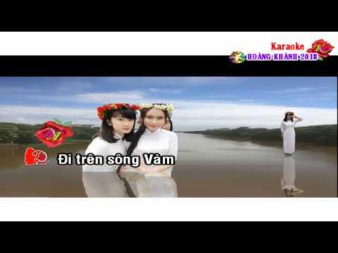 Karaoke - Dòng Sông Và Tiếng Hát - song ca.  Xanh mãi