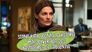 """Stana Katic conta a história mais divertida dos bastidores de """"Absentia"""""""