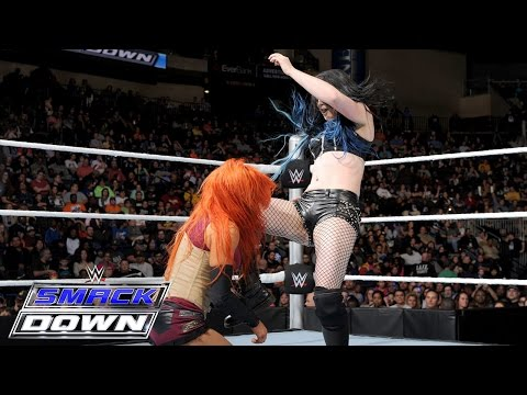 Becky Lynch Vs. Paige – Nr. 1 Herausforderin Match: SmackDown – 10. Dezember 2015