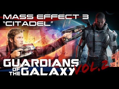 guardians of the galaxy, mashup, mash-up, trailer, citadel, crossover, video, games, bioware, marvel, marvel studios, andromeda, commander, shepard, star lord, gamora, rocket raccoon, groot, drax, dave bautista, mark meer, jennifer hale