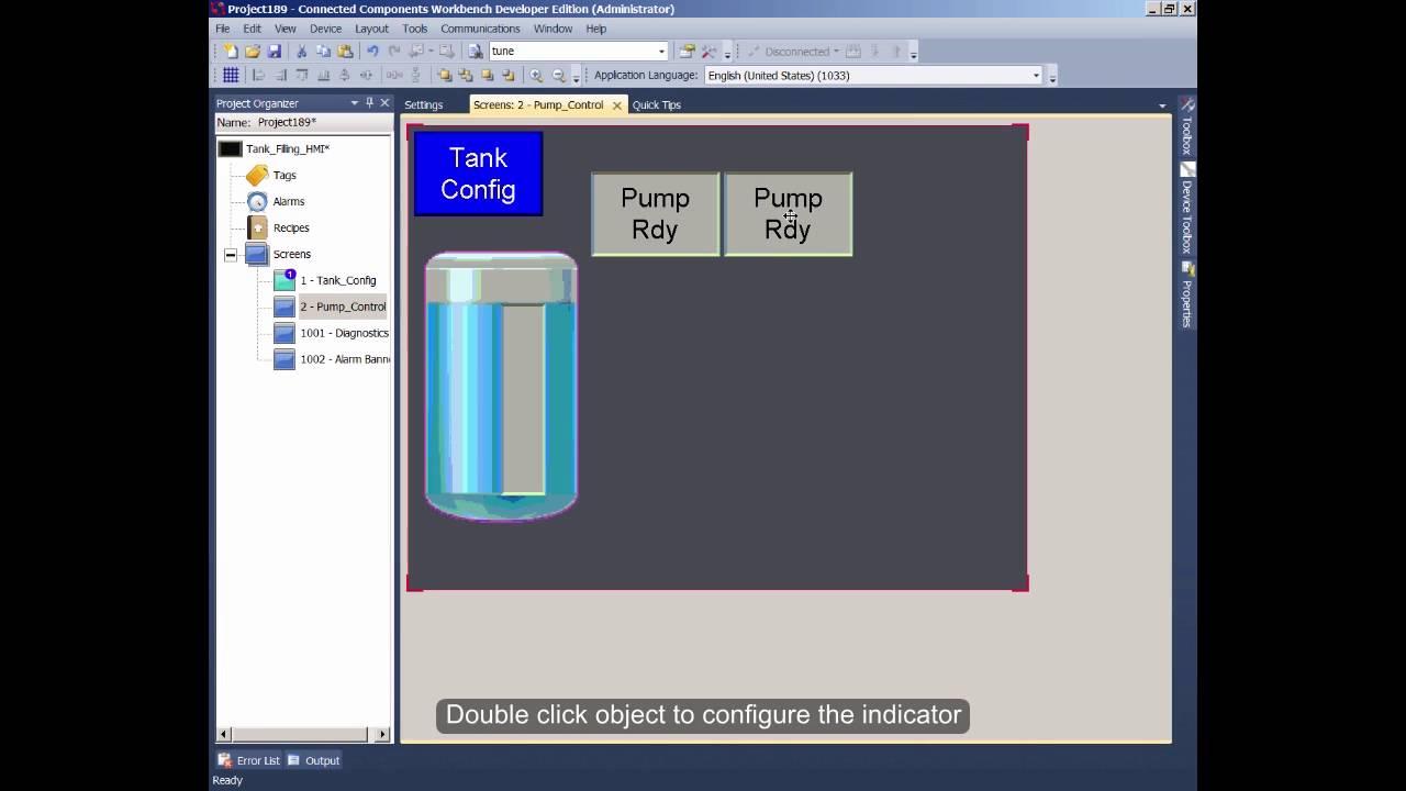 Basics 3 of 4 Design a HMI Application R8 YouTube – Hmi Developer