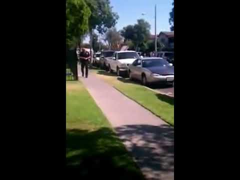 """""""He's Still Alive!"""" Immediate Aftermath of Anaheim Police Killing of Manuel Diaz"""
