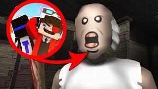 ПОЛ ЭТО ЛАВА! ДОМ ЭТО ЛАВА! БАБКА ЭТО ЛАВА! ГРЕННИ ПЫТАЕТСЯ НАС УБИТЬ! Minecraft