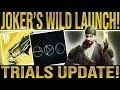 Destiny 2 News Update TRIALS OF THE NINE UPDATE Joker S Wild Launch Content Update More mp3