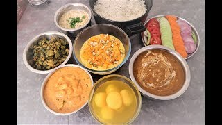 INDIAN FOOD FOR GUESTS | INDIAN SPECIAL DINNER ROUTINE | Food for small Get Together | Daawat Food
