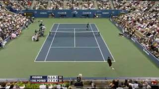 Roger Federer vs Juan Martin Del Potro - US Open 2009 Final