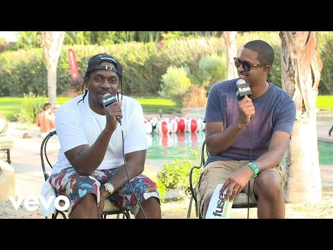 Pusha T - Fuse Interview (Coachella 2013)