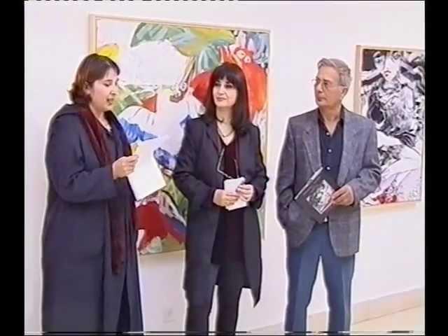 האמנית אילנה רביב במוזיאון וילפריד ישראל לאמנות - 3