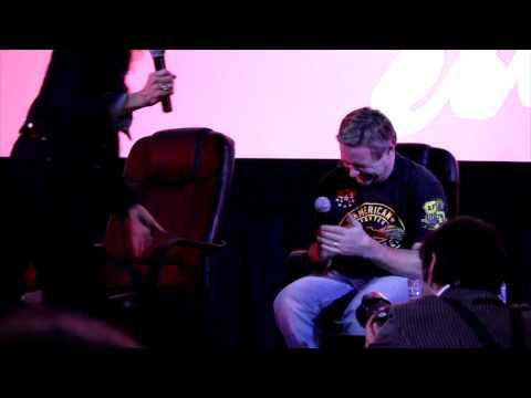 Meg Foster and Roddy Piper - Mile High Horror Film Festival Clip 1
