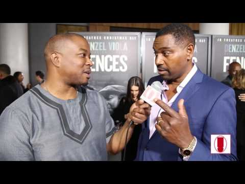 """Fences"" Star Mykelti Williamson Talks About Hip-Hop, His Top 5 Old School Rappers and ""Fences"""