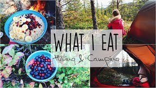 Hiking & Camping » Healthy What I Eat in the Wild!