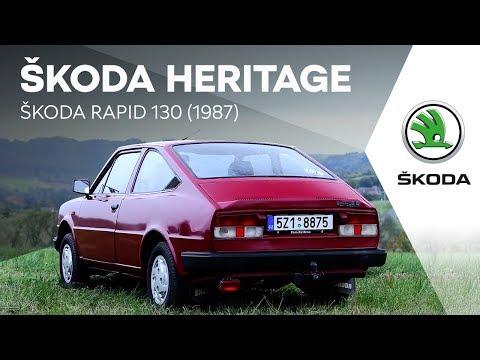 ŠKODA HERITAGE: ŠKODA RAPID 130 (1987)