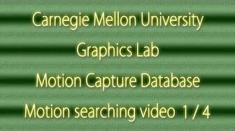 Carnegie Mellon University Graphics Lab Motion Capture