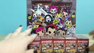 Punkstars Frenzies Tokidoki Surprise Blind Box Mystery Toy Keychain