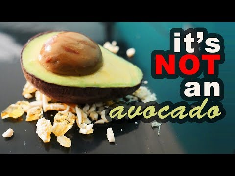 No mold dessert challenge #2 It's NOT an avocado