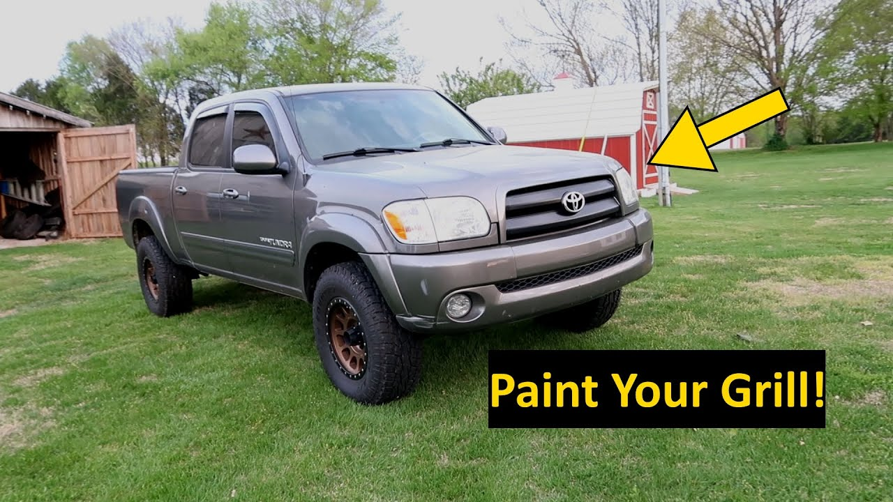 Modify Your Grill 1st Gen Toyota Tundra Sequoia Youtube