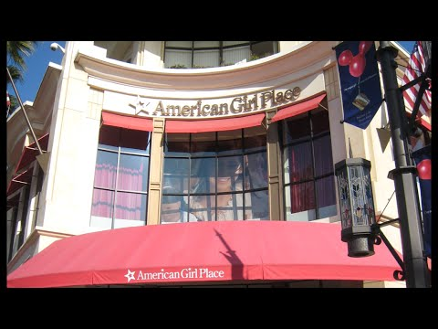 American Girl Place Los Angeles Tour!