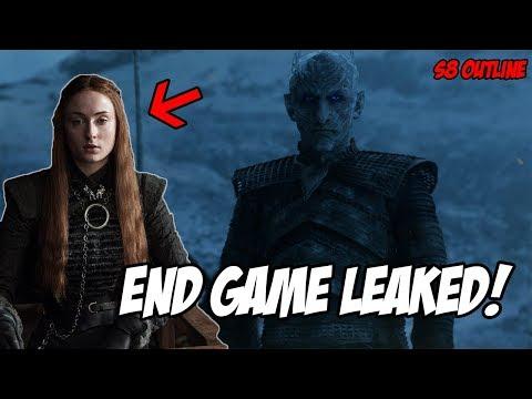 End Game LEAKED Plot! Game Of Thrones Season 8 (Leaked Scenes)