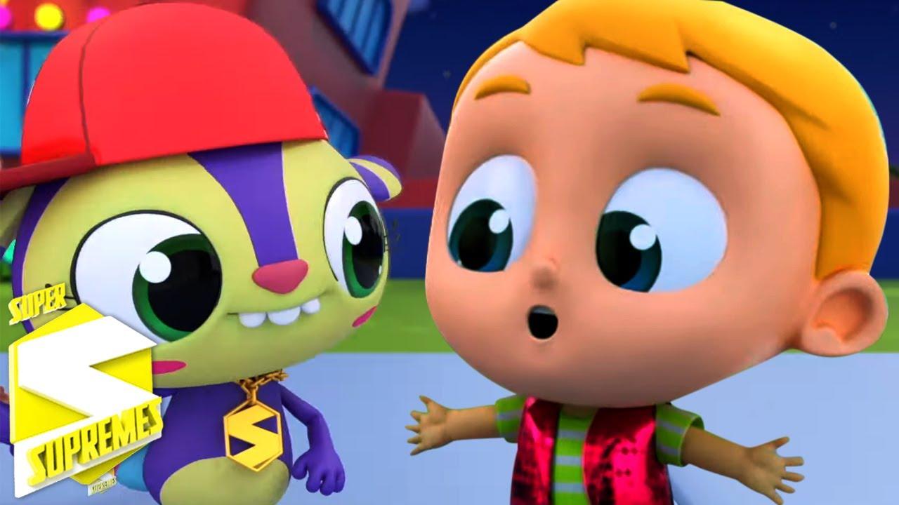 Oopsie Doopsie | Rimas para niños | Educación | Super Supremes Español | Dibujos animados