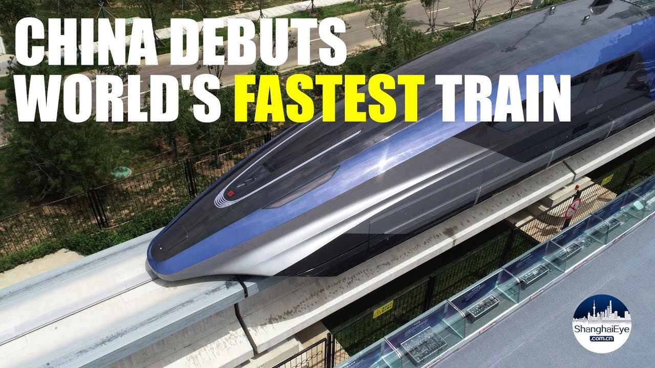 Download 🚝 600 kilometers(373 miles) per hour! China unveils world's fastest maglev train